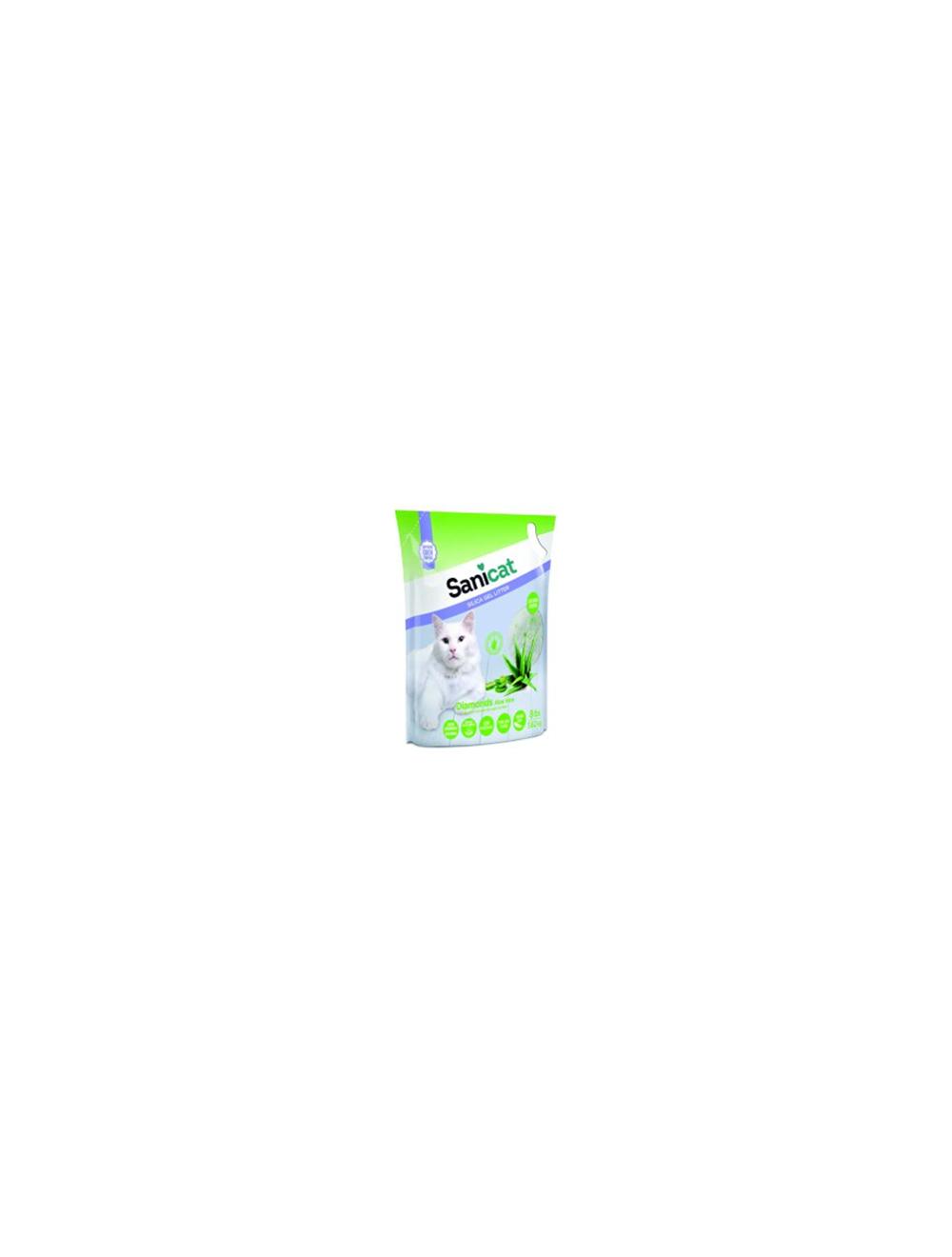 Sanicat Diamond Gel De Silice Aloe Vera x 3.6 Kg
