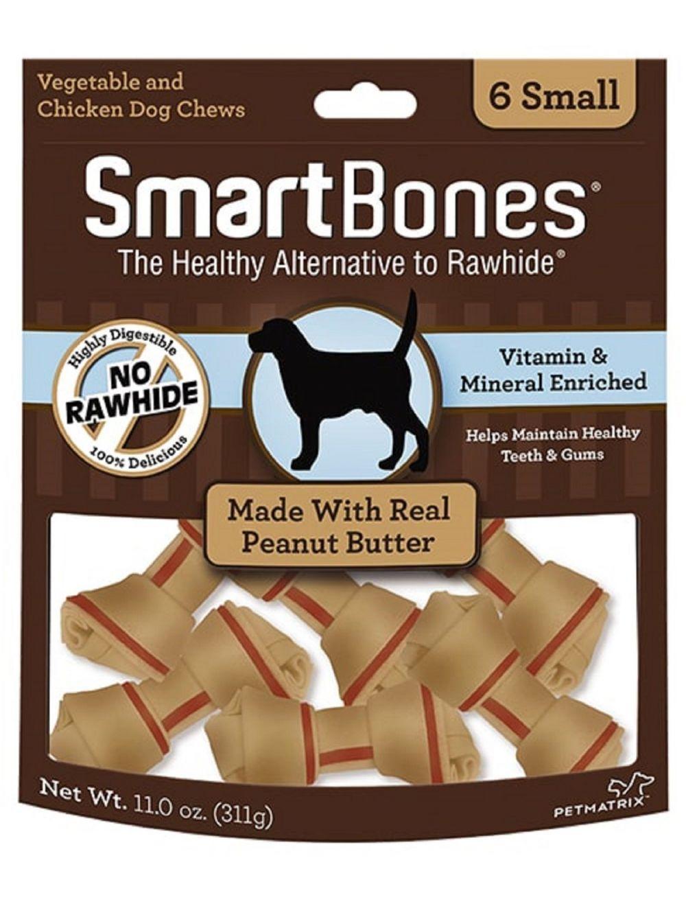 Snacks para perros Smartbones Chicken Small - Ciudaddemascotas