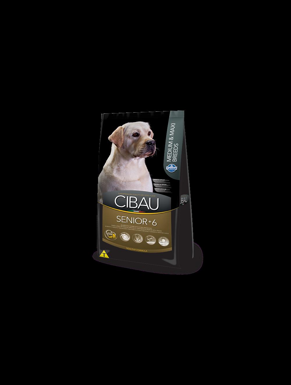 Cibau Senior Medium and Maxi Breed 12 Kg