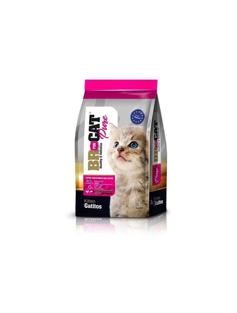 Br For Cat Gatitos 1 Kg - Ciudaddemascotas.com