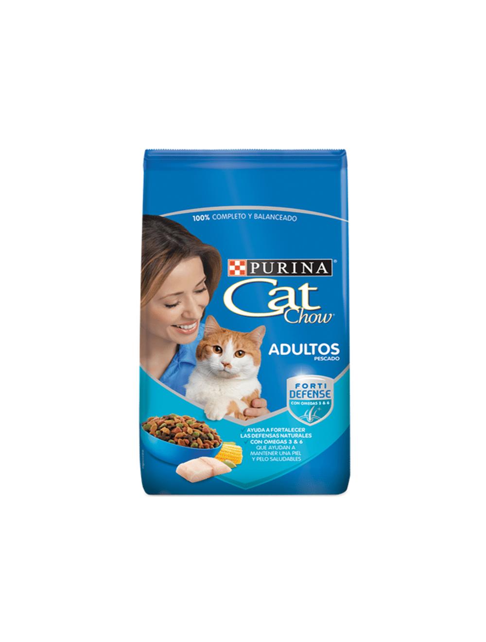 Comida para Gatos Cat Chow Adultos Pescado-Ciudaddemascotas.com