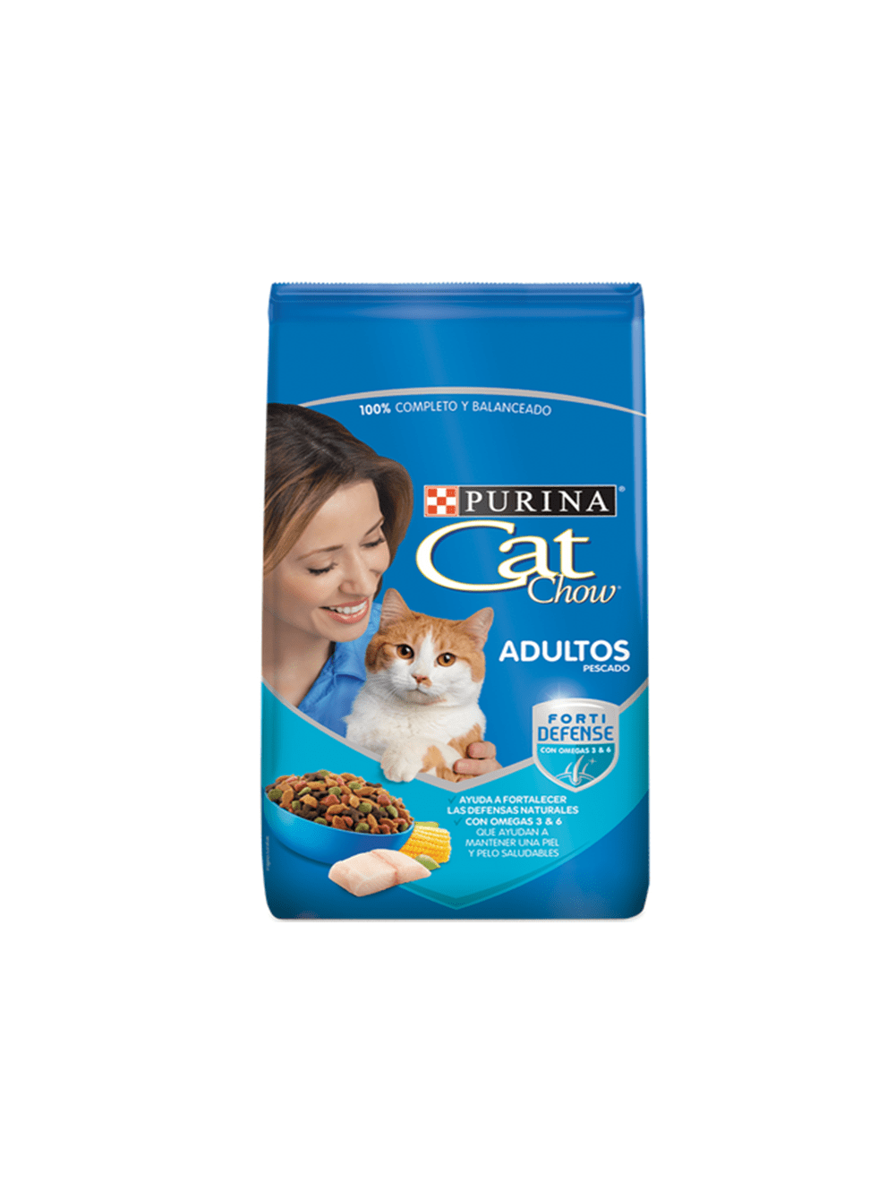 Comida para Gato Cat Chow Adultos Pescado-Ciudaddemascotas.com