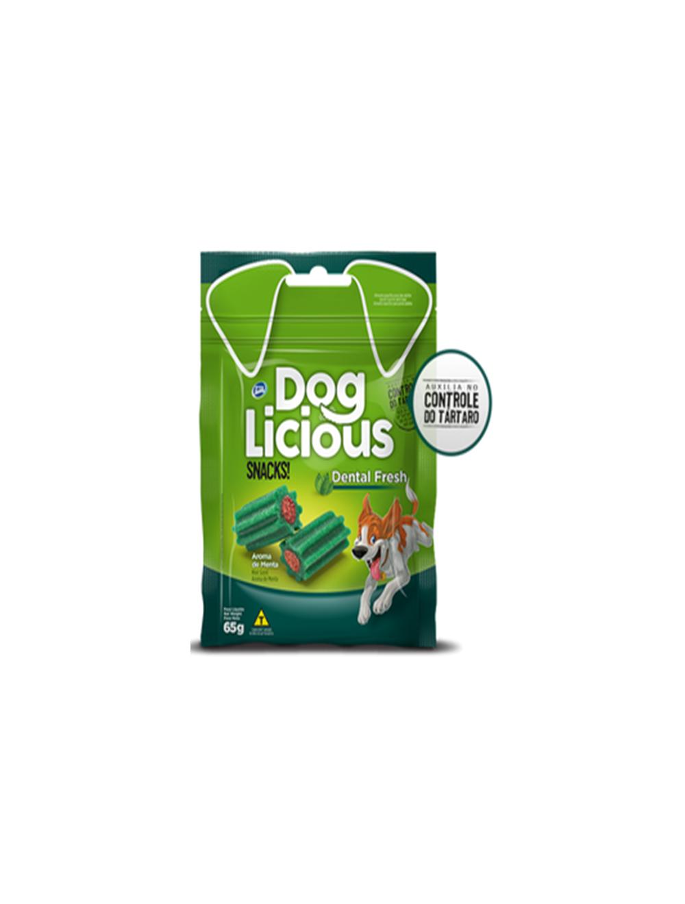 Dog Licious Snack Para Perros Dental Fresh 65g