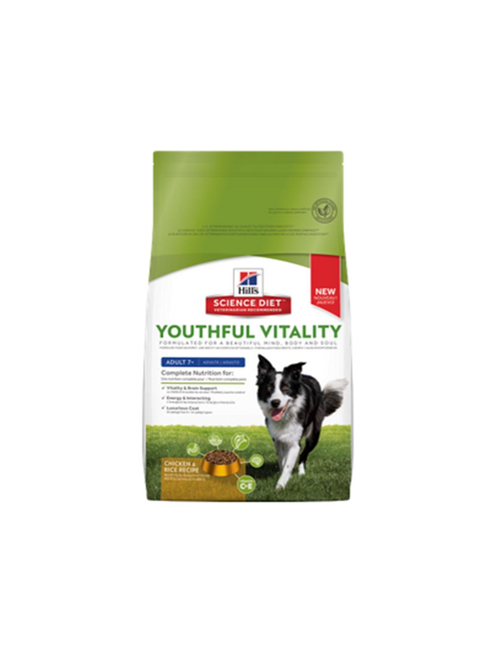 Hills Perro Youthfull Vi Ad 7+ Chicken &Rice 1.58K - PRSR