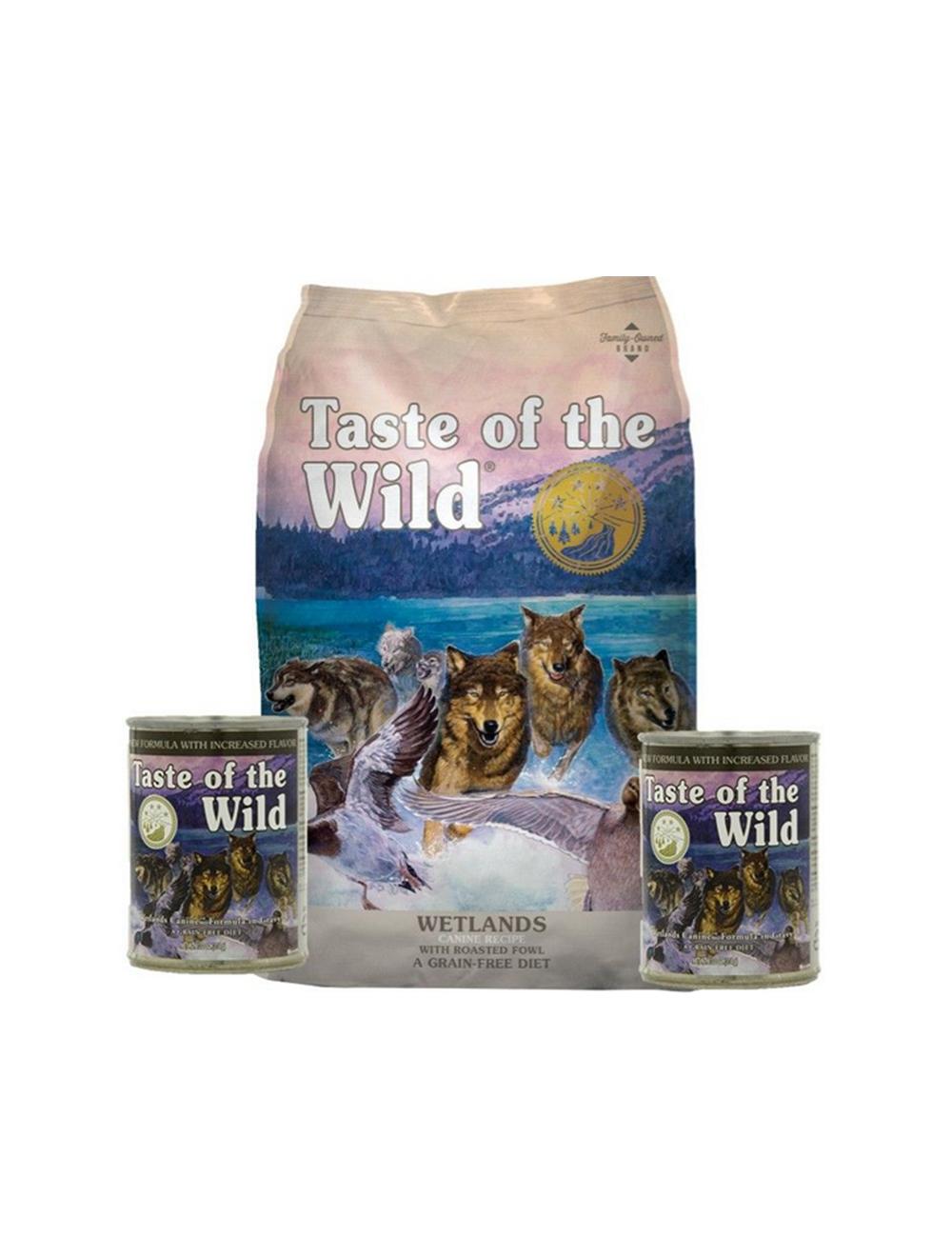 Comida para perros Taste Wild Wetlands combo-Ciudaddemascotas.com