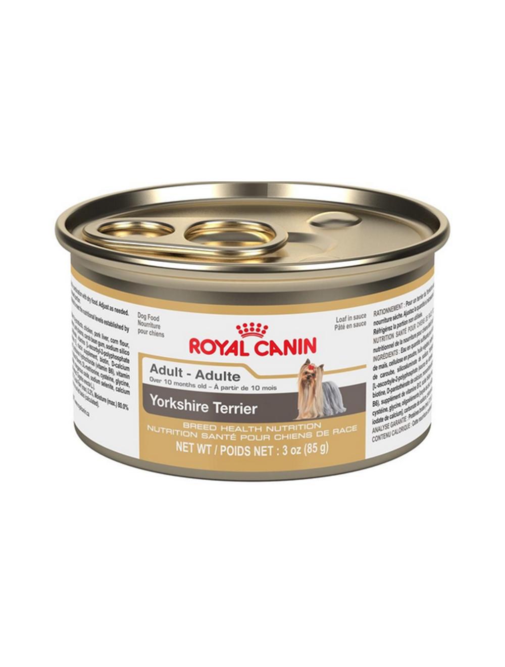 Comida Royal Canin Dog Lata Yorkshire x 85g - Ciudaddemascotas.com