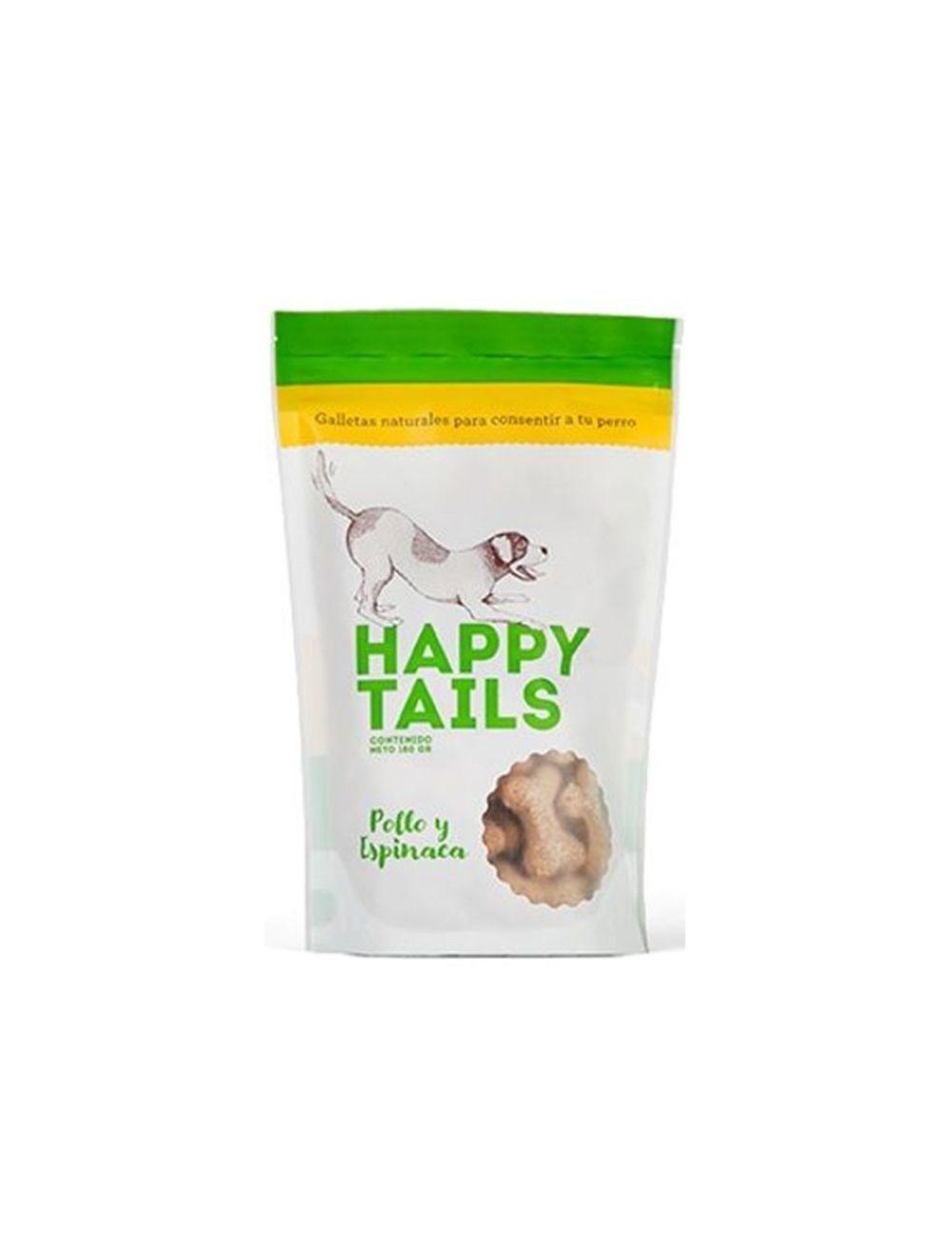 Happy Tails Pollo y Espinaca