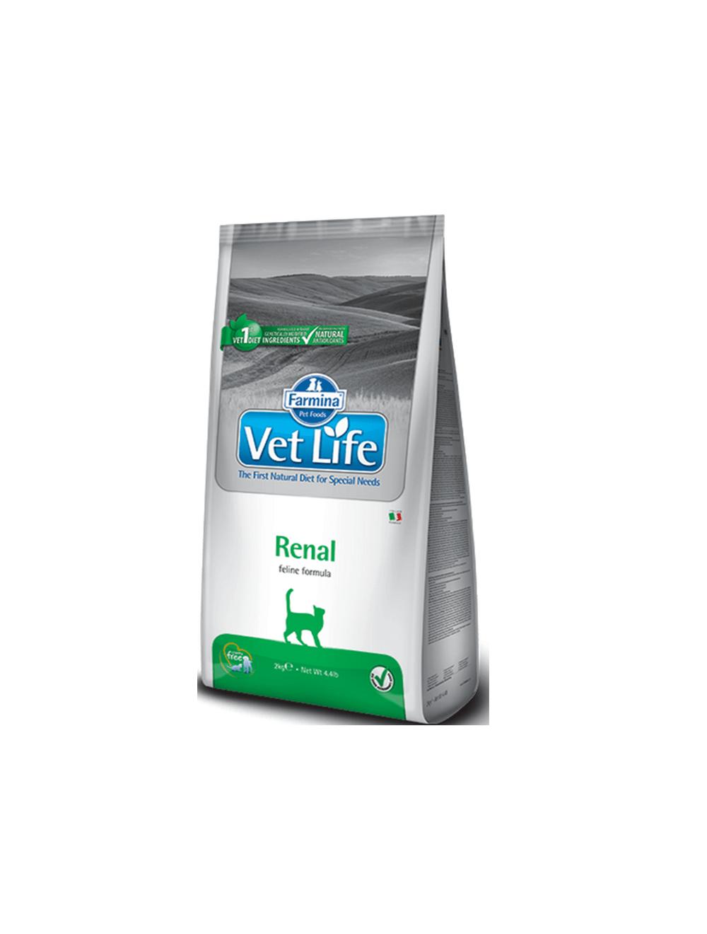 Vet Life Gatos Renal - Ciudaddemascotas.com