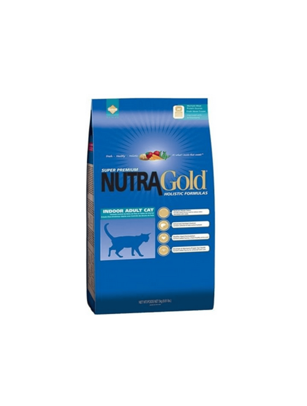 Nutra Gold Gatos Adultos de Interiores