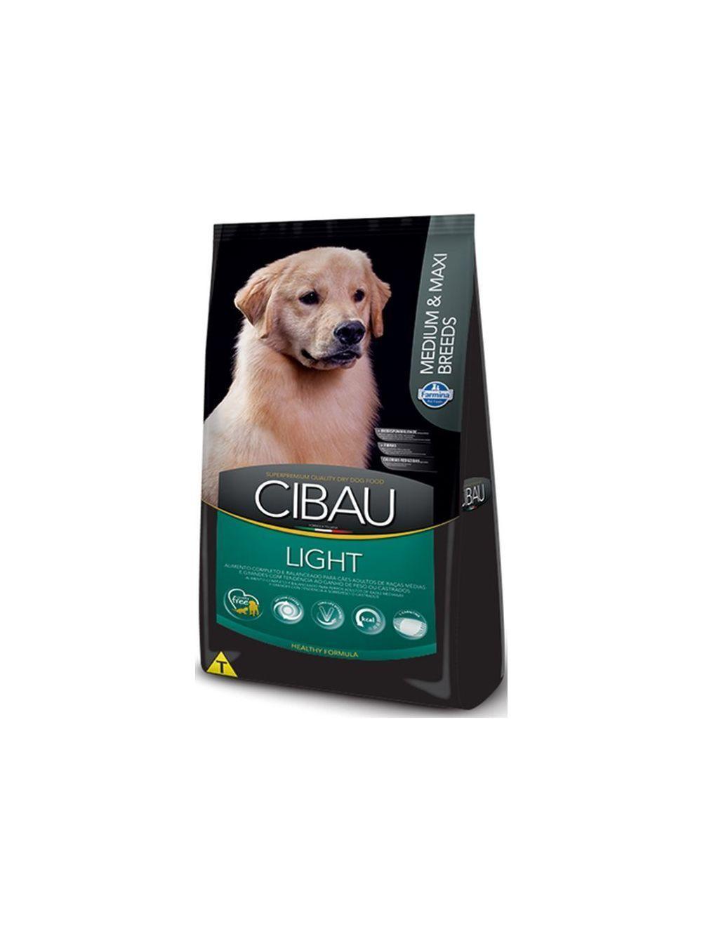 Cibau Light Medium And Maxi Breed 12 Kg