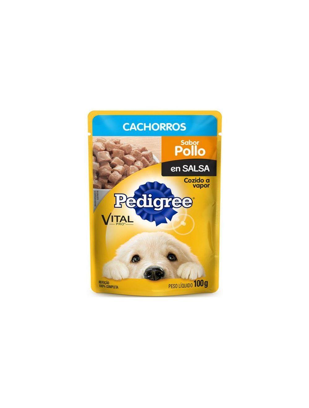 Pedigree Pouch Puppy Pollo 100 gr - P80
