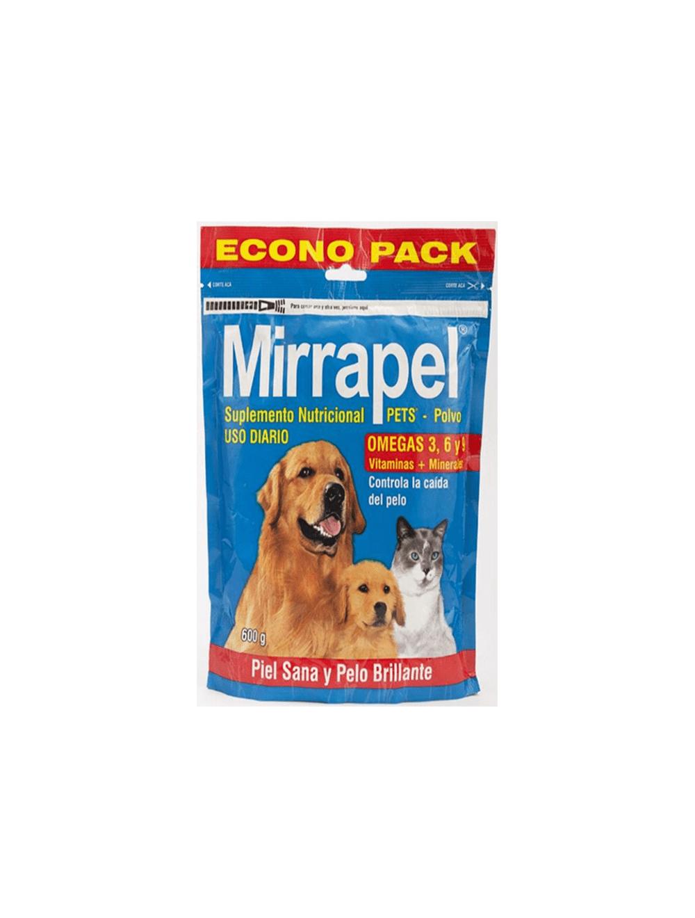 Mirrapel Perros y Gatos Polvo Suplemento Nutricional (600 g)