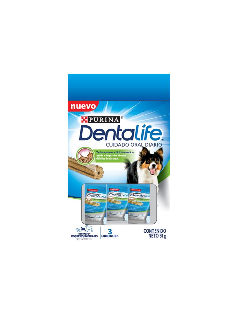 Dentalife S/M Dog Treats x (3x17g)