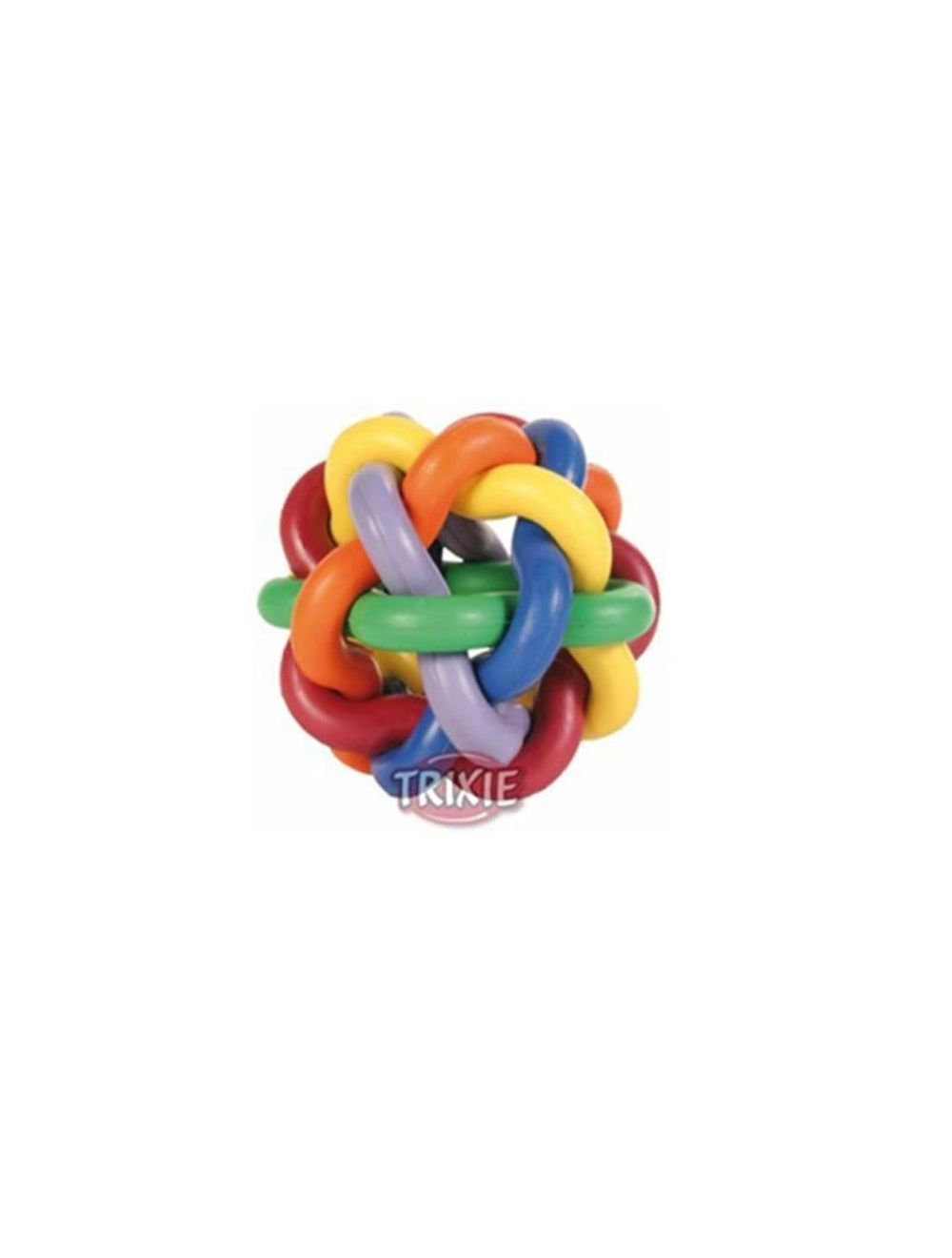 Trixie pelota nudos Natural Rubber L