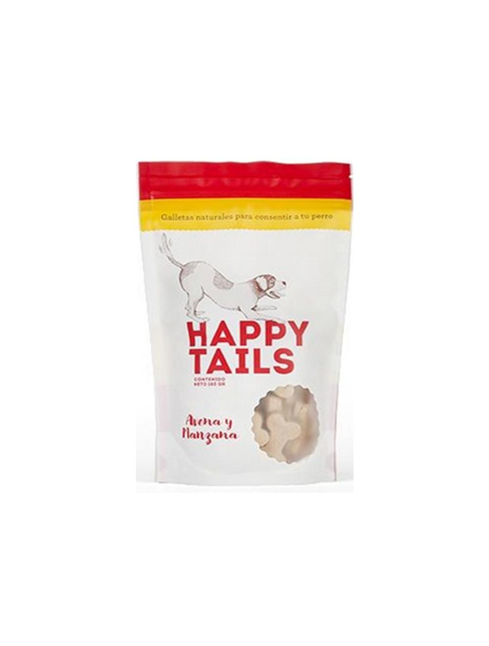 Happy Tails Avena y Manzana - Ciudaddemascotas.com