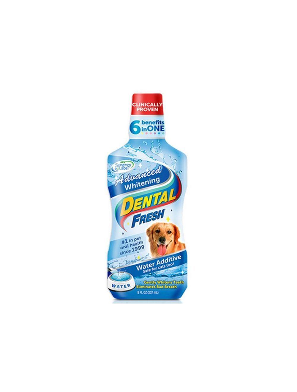Enjuague Bucal Dental Fresh Whitening Perros - Ciudaddemascotas.com