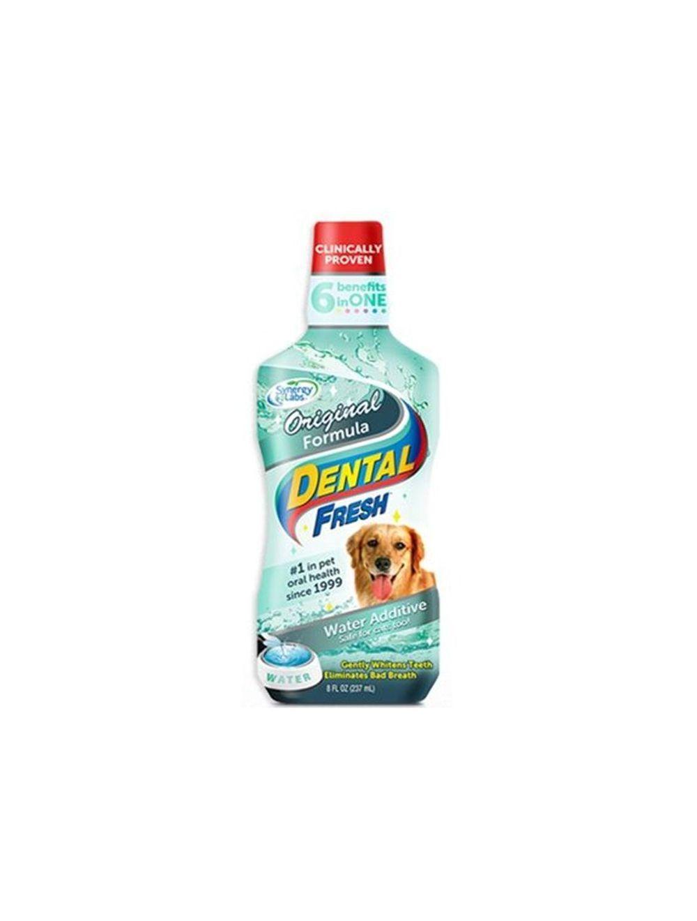 Enjuague Bucal para Perros Dental Fresh - Ciudaddemascotas.com