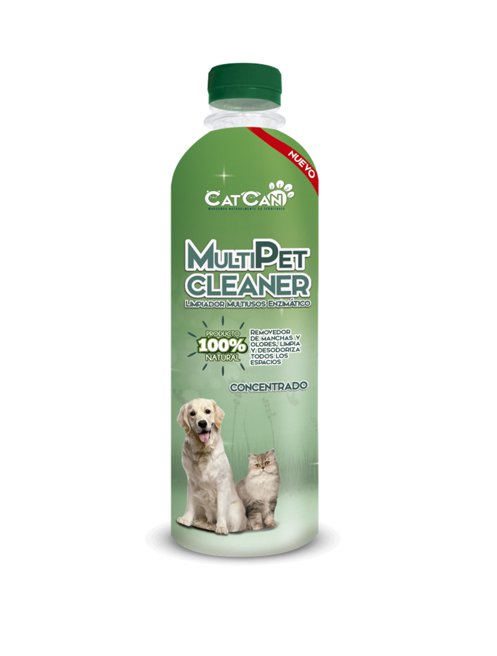 Cat Can Multipet Cleaner Concentrado-Ciudaddemascotas.com