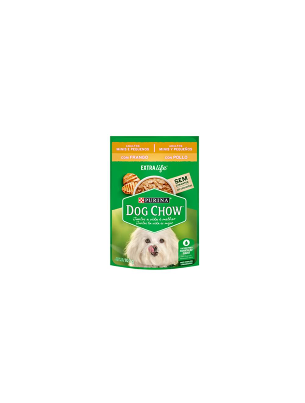 Purina dog chow adultos minis y pequeños con pollo - Ciudaddemascotas.com