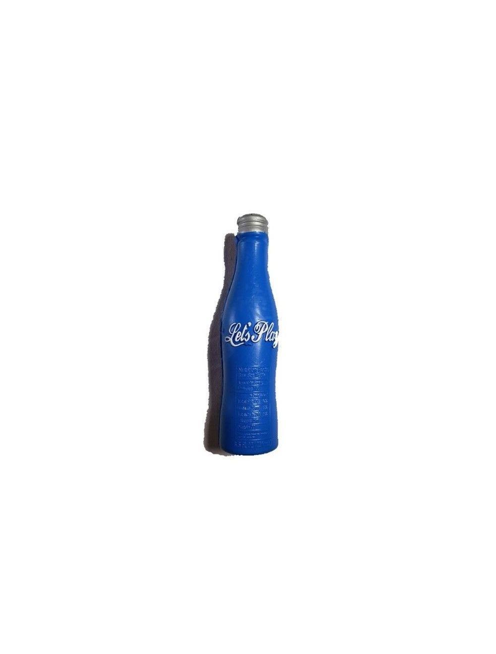 Solepet Juguete De Goma Para Perros Tipo Botella Con Sonido Azul