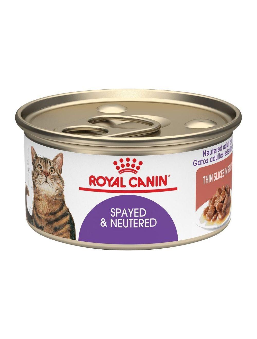 Royal Canin Cat Lata Esterilizados x 85gr - Ciudaddemascotas.com