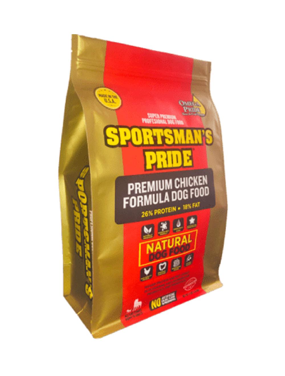 Comida Sportsmans pride premium chicken - ciudaddemascotas.com