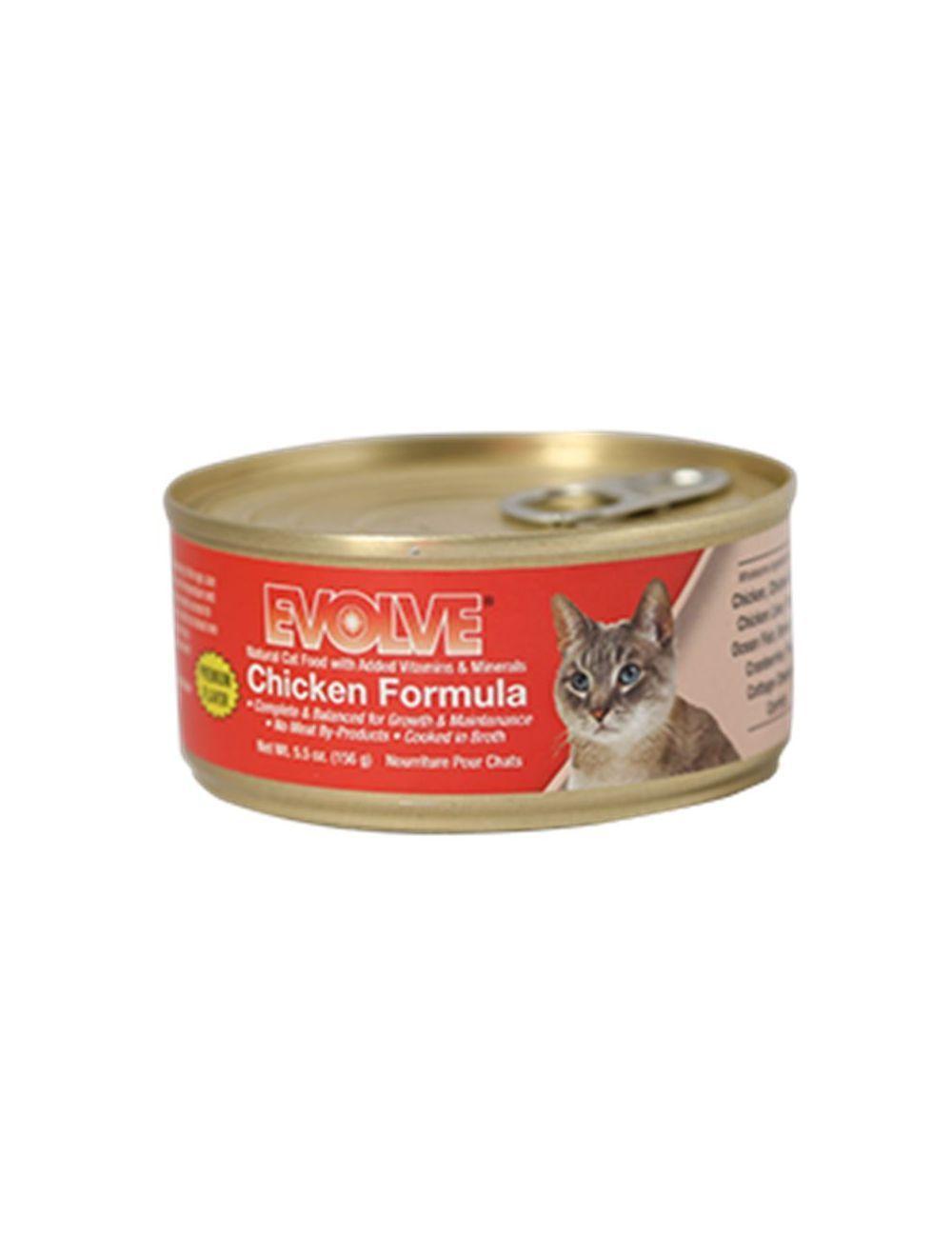 Evolve Cat Lata Pollo