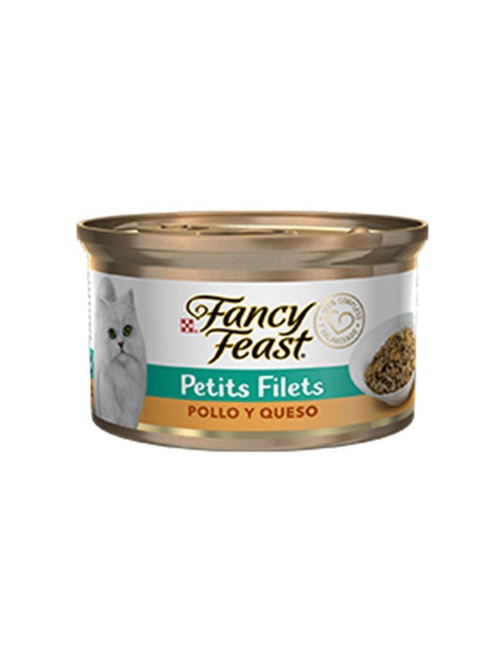 Fancy Feast Petit Filets Pollo y Queso - Ciudaddemascotas.com