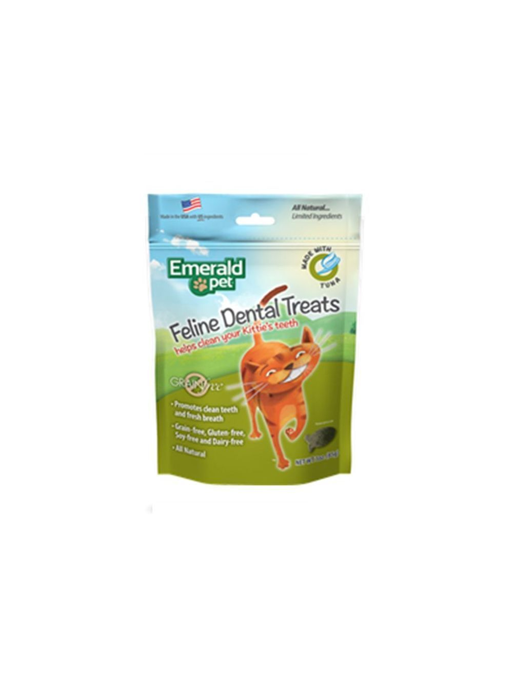Esmerald Pet Snack Para Gatos Dental Atún-Ciudaddemascotas.com