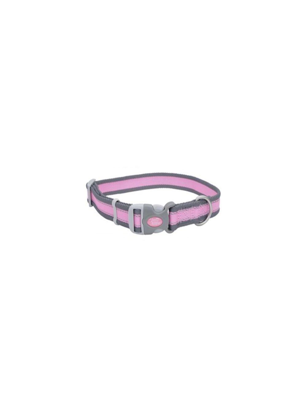 Collar Pro Rosado Con Gris Small 3/4