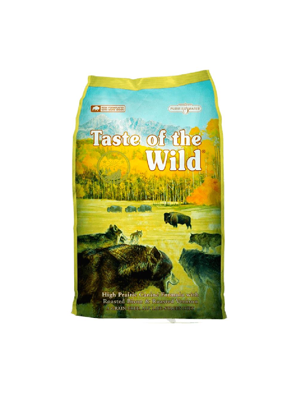 Taste Of The Wild High Prairie Canine 2.27 Kg - Ciudaddemascotas.com