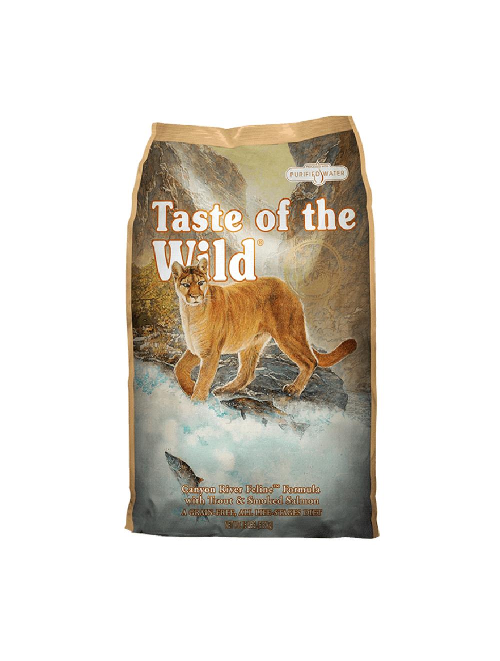 Taste Of The Wild Canyon River Trucha y Salmón Ahumado - Ciudaddemascotas.com