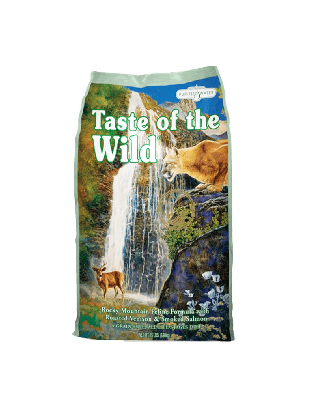 Taste Of The Wild Ciervo y Salmón Ahumado - ciudaddemascotas.com