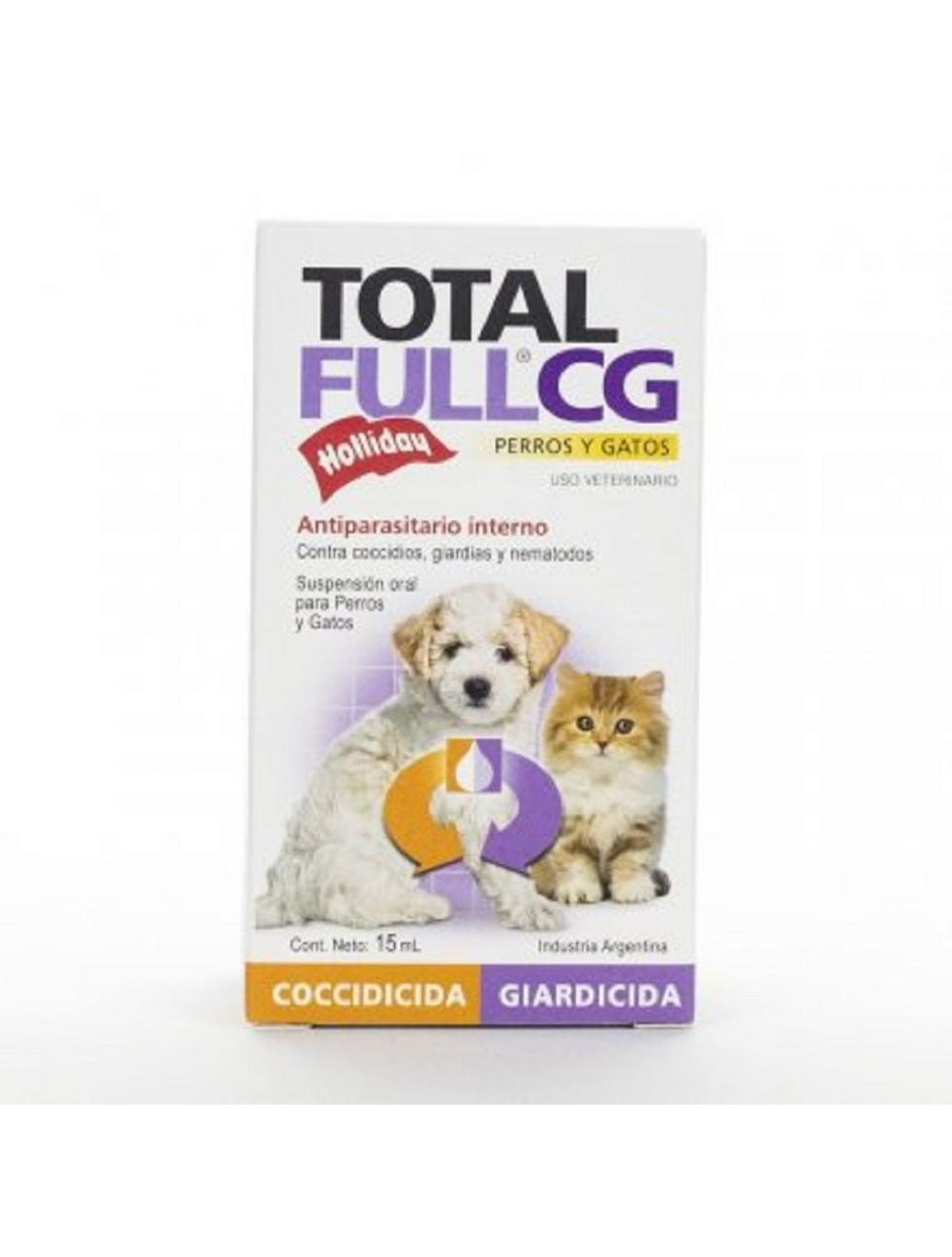 Total Full CG Suspensión para Mascotas x 15 ml
