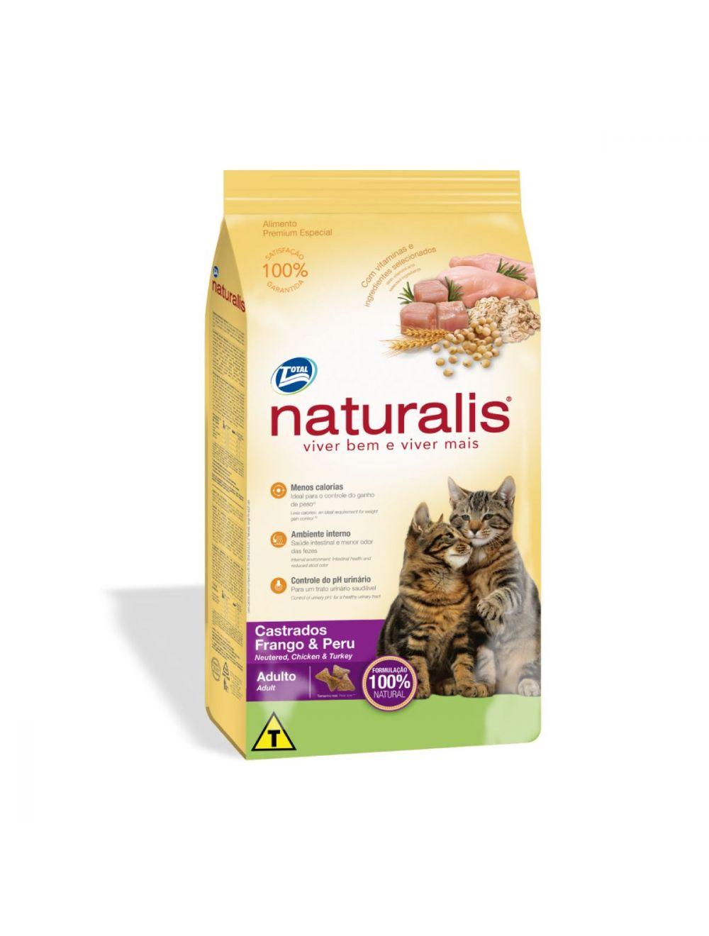 Comida Naturalis Gatos Castrados Pollo Pavo - Ciudaddemascotas.com