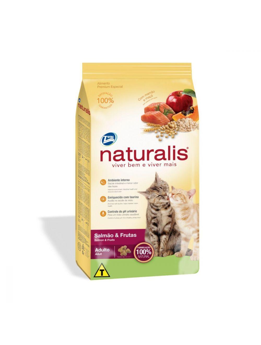 Comida para Gatos Naturalis Adultos Salmón-Ciudaddemascotas.com