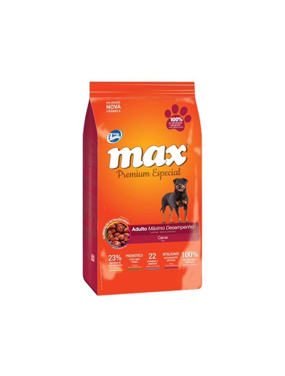 Total Max Perro Adulto Maximo Rendimiento Carne 15Kg