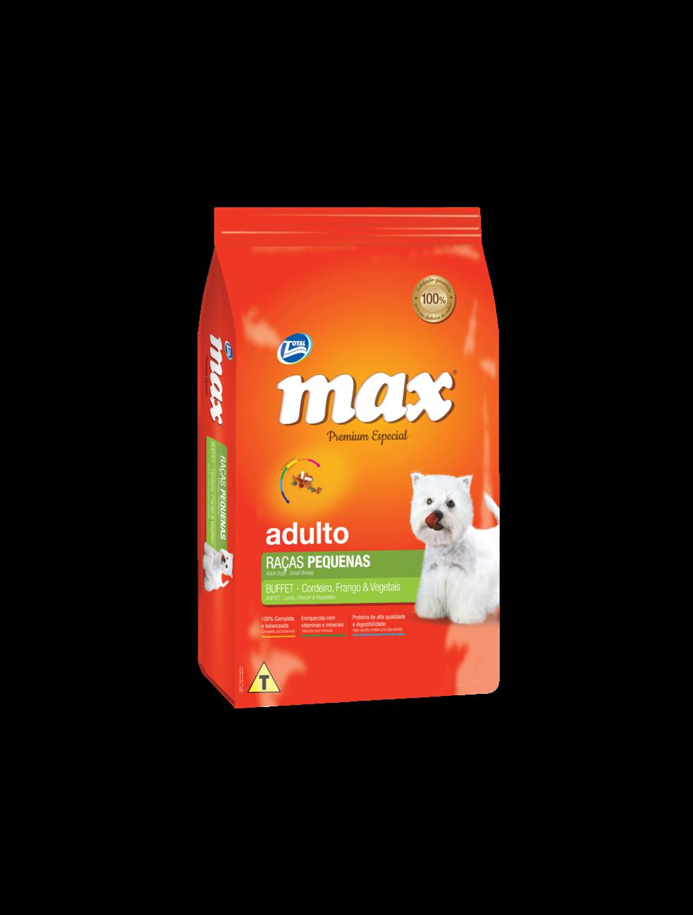 Total Max Buffet Raza Pequeña Pollo 2Kg
