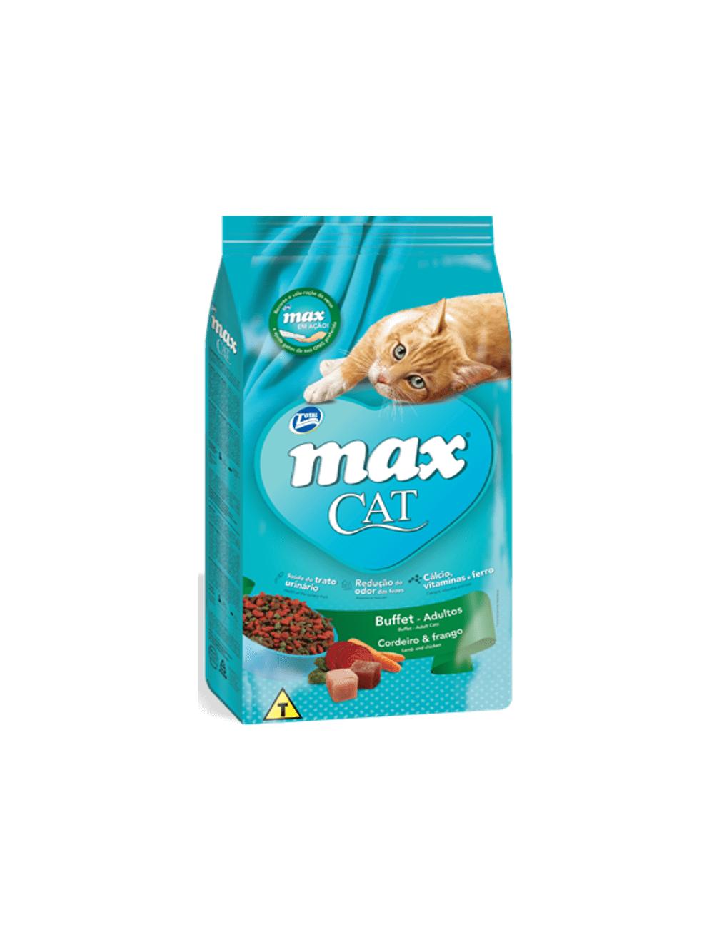 Comida Total Max Cat Buffet Frango - ciudaddemascotas.com