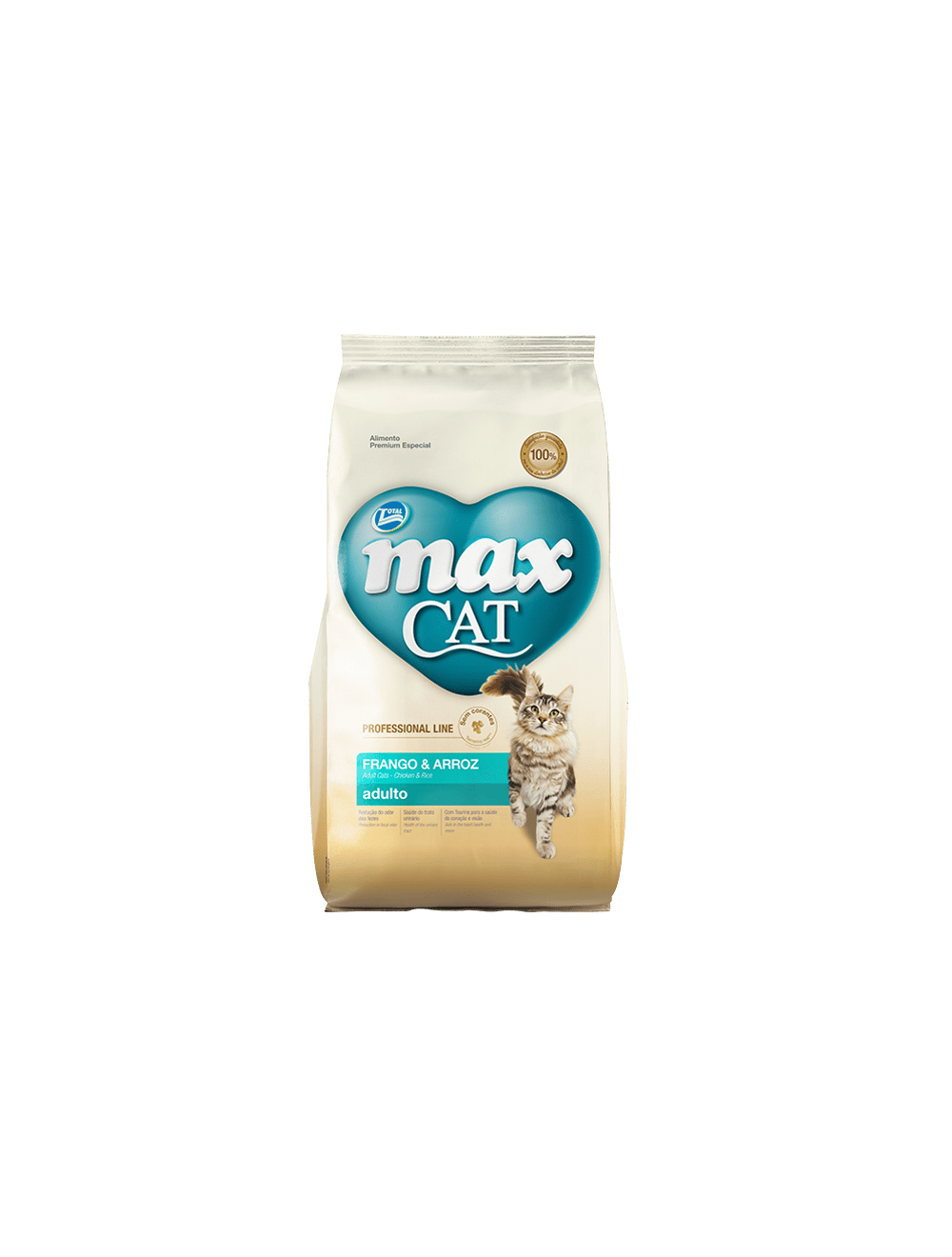 Total Max Cat Professional Adulto Frango & Arroz 1 Kg