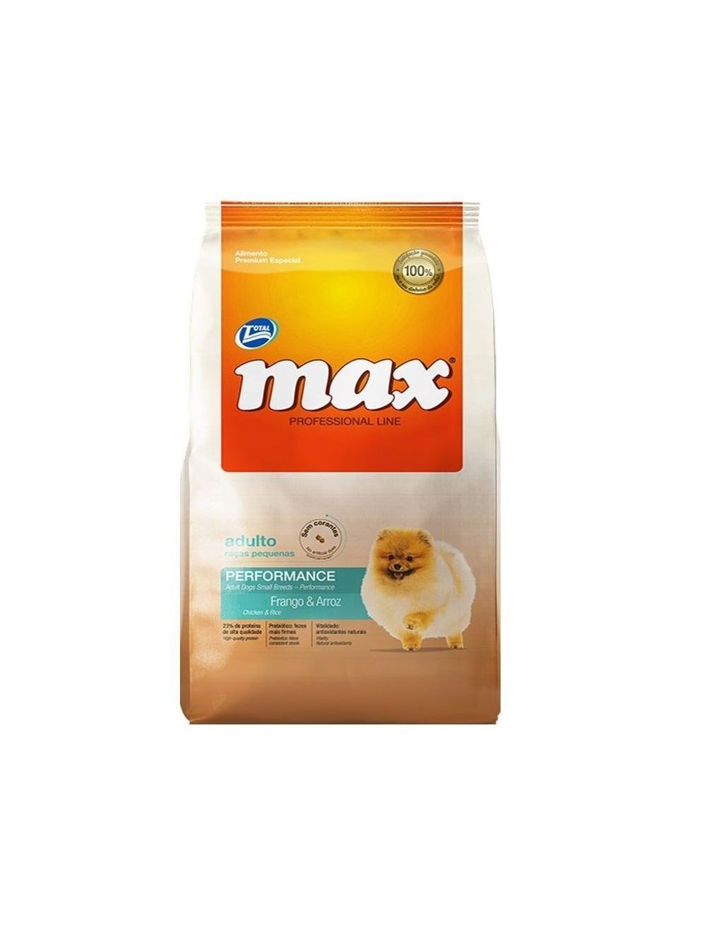 Total Max Performance Adulto Raza Pequeña 2 Kg