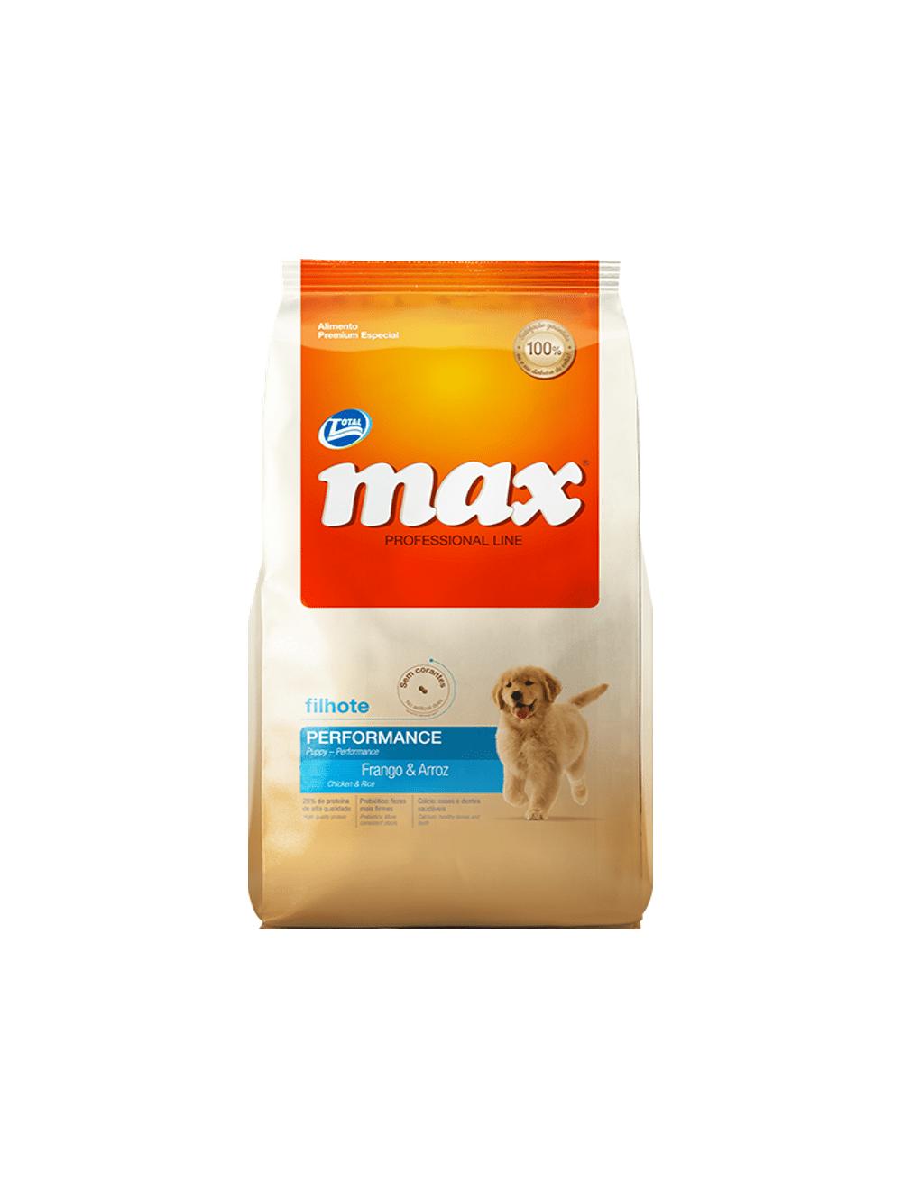Comida Total Max Filhote Cachorro 8 Kg - ciudaddemascotas.com