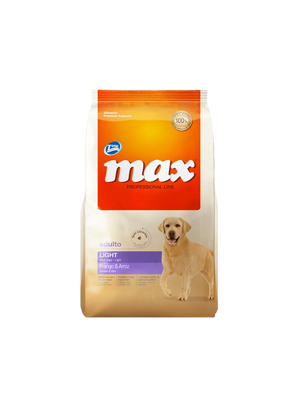Comida Total Max Performance Light - ciudaddemascotas.com