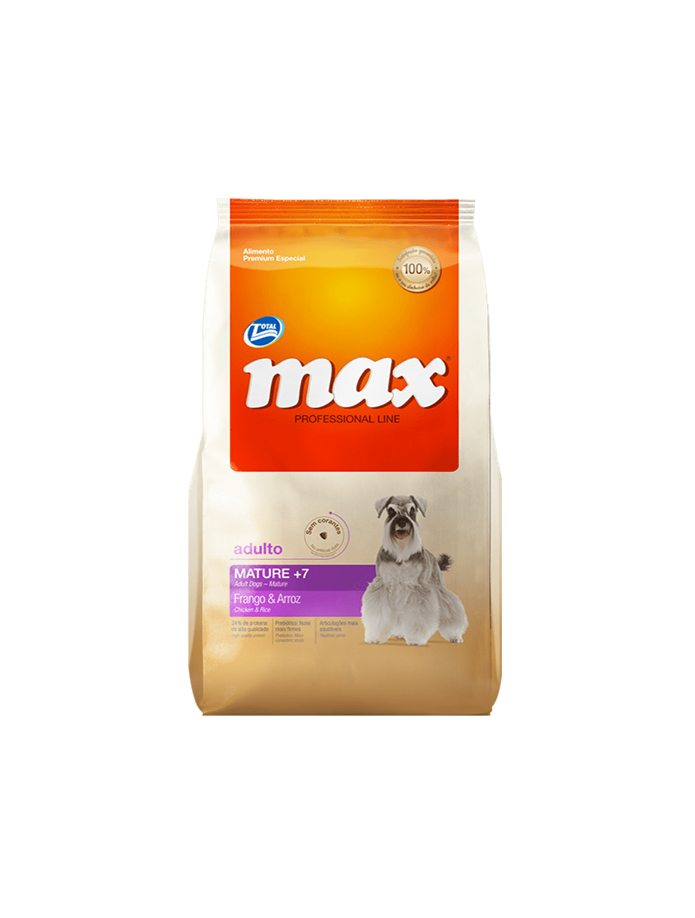 Comida Total Max Performance Mature 2 Kg - Ciudaddemascotas.com