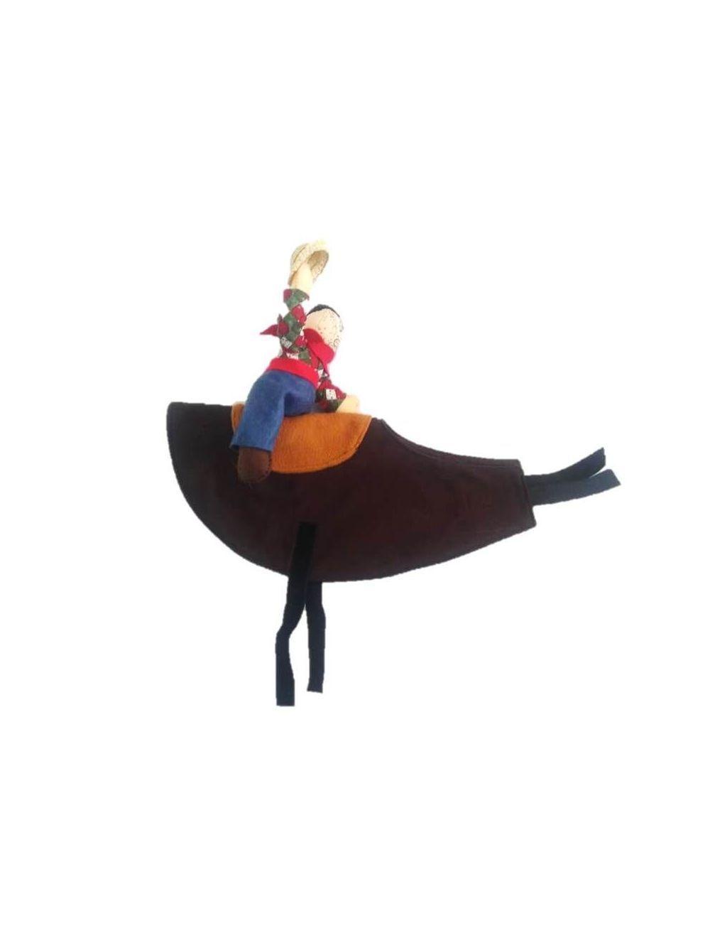 Disfraz Vaquero alocado ajustable Talla S- M - PRSR
