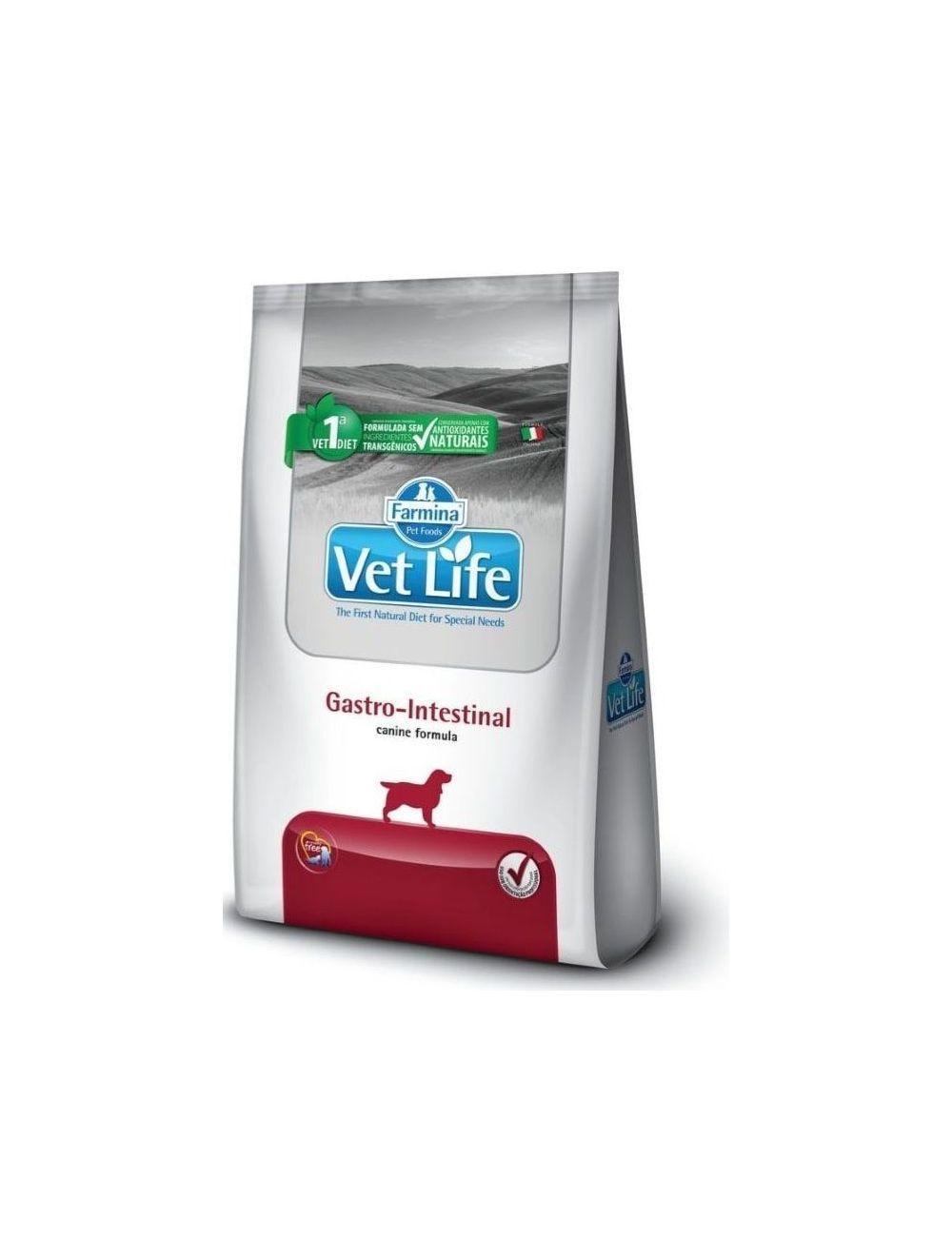 Comida para perro Vet Life Gastrointestinal-Ciudaddemascotas.com