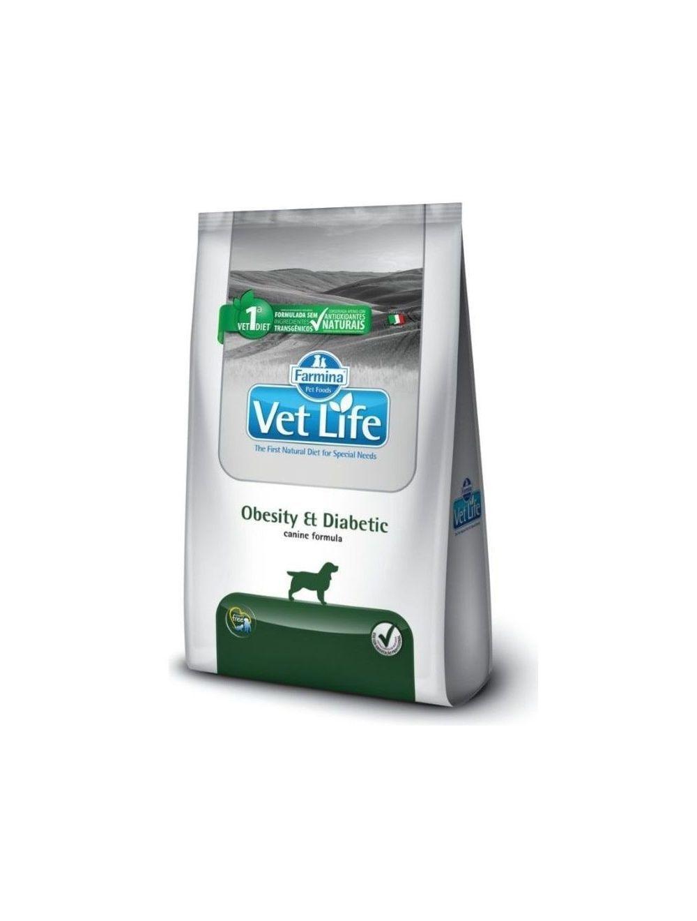 Vet Life Obesity & Diabetic para Perros