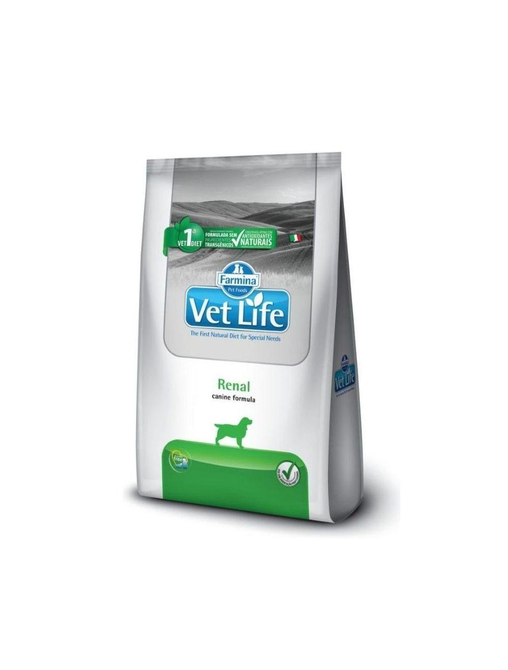 Comida para perro Vet Life Renal 10.1 Kg - ciudaddemascotas.com