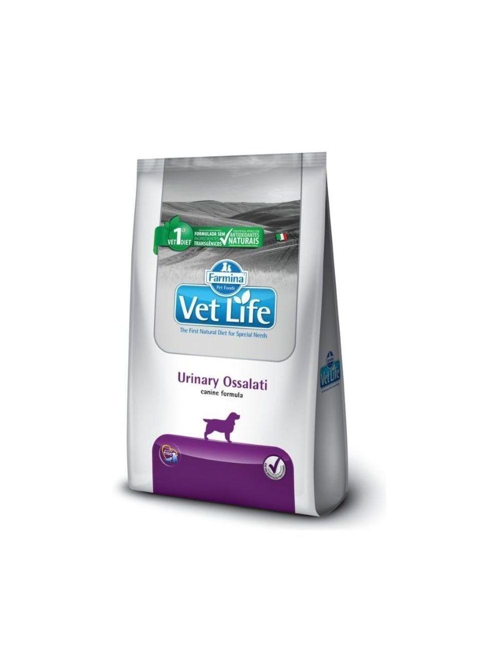 Comida para perro Vet Life Urinary Ossalati-Ciudaddemascotas.com
