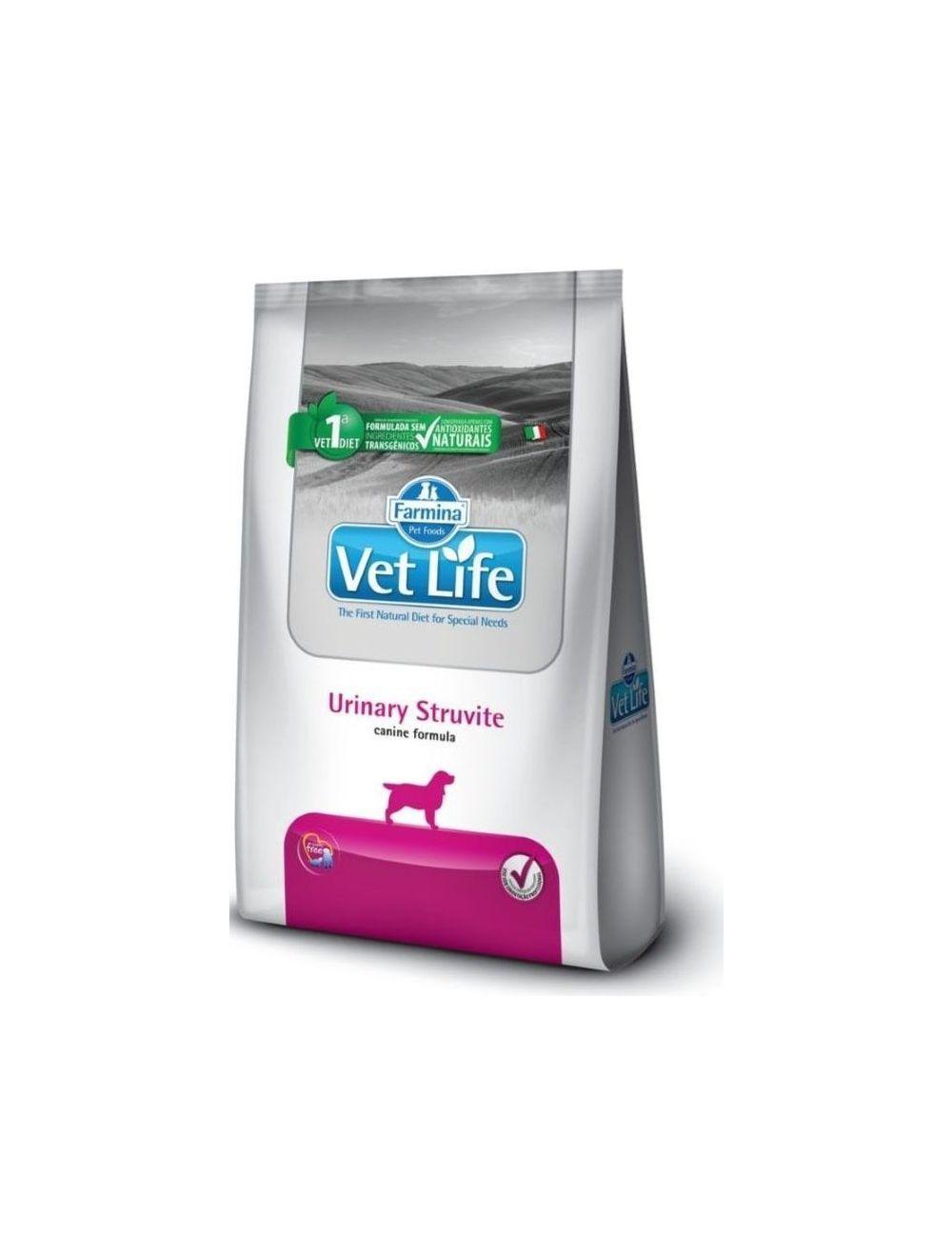 Comida para perro Vet Life Urinary Struvite-Ciudaddemascotas.com